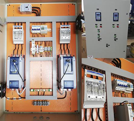 Sistema de protección y control de bombeo alternado con PLC clic 02